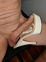 Cock in heels